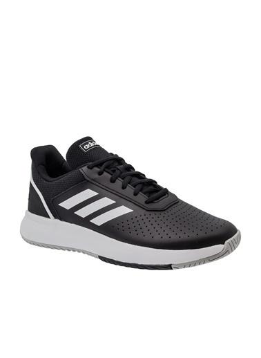 adidas Erkek Courtsmash Sneakers 258482 Siyah